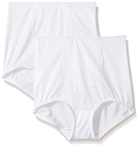 Hanes Shapewear Women's Light Control 2 Pack Tummy Control Brief