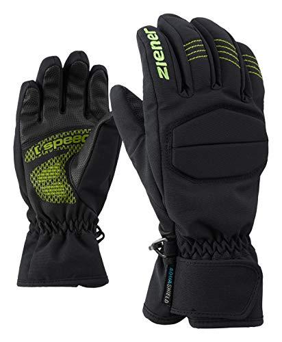Ziener Kinder LEEDY AS(R) Glove junior Ski-Handschuhe, Black, 3 | 04059749249054