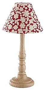 Kahlert 10.292 luz - Muñeca Mini Accesorios - Lámpara de pie Holzfuss