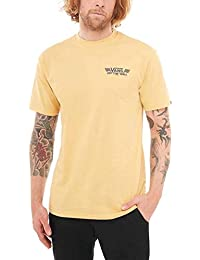 d2e9030fc3 Vans Mens Crossed Sticks T-Shirt - Wheat