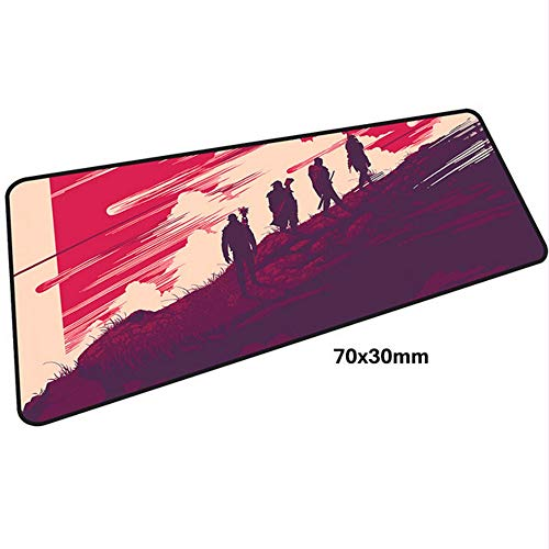 Dragon Mauspad Spiel Spieler 700x300X3MM Gaming Mauspad große Tasche Laptop Zubehör Laptop Mauspad ergonomische Pad (Einfache Halloween-taschen Zu Machen)
