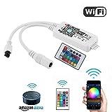 Ubannner striscia LED, WiFi wireless Smart Phone controllata kit striscia luce 10m 5050300LEDS impermeabile IP65luci LED, funziona con sistema Android e iOS, ALEXA