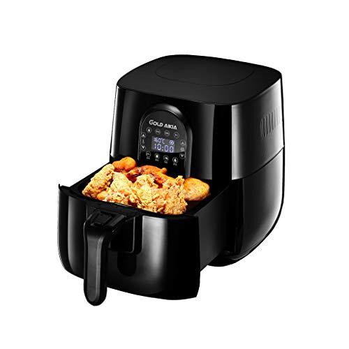 KISLENGH Air Fryer Gesunde Low Fat Rauchfreie Digitalanzeige Ofen Temperaturregelung Enthält Kuchenkorb Rezeptbuch, Abnehmbare Haushalts-Friteuse 2.8L