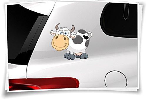 Autoaufkleber Sticker Kinder Aufkleber Kindername Baby Junge Mädchen Boy Girl Kuh