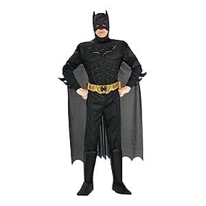 Rubie's 3 880671 M - Deluxe Batman Erwachsene Kostüm, Größe M