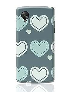 PosterGuy Google Nexus 5 Case Cover - Lovely Valentine'S Day Heart Patterns Heart Valentine, Lovely Valentine'S Day Heart Patterns, Valentine Patterns, Vector Pattern, Flat Pattern.