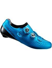 SHIMANO SHRC9OC430SBZ0 - Zapatillas ciclismo, 43, Azul, Unisex