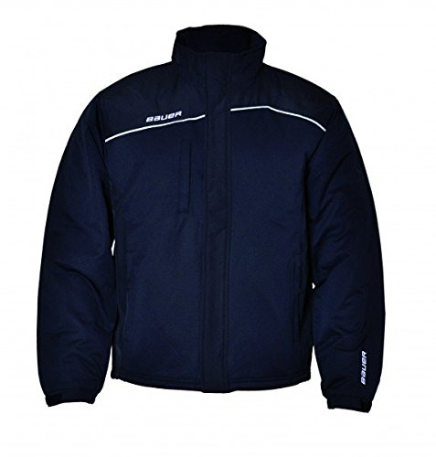 BAUER Core Heavyweight Winter Jacket Senior + Junior Black
