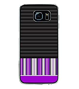Fuson Designer Back Case Cover for Samsung Galaxy S6 Edge :: Samsung Galaxy S6 Edge G925 :: Samsung Galaxy S6 Edge G925I G9250 G925A G925F G925Fq G925K G925L G925S G925T (lines square box art artistic)