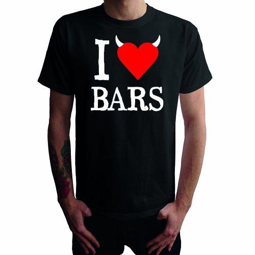 I don't love Bars Herren T-Shirt Schwarz
