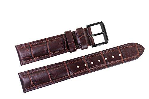20mm-italien-remplacement-en-cuir-bracelets-groupes-de-luxe-brun-grosgrain-rembourree-pour-les-montr