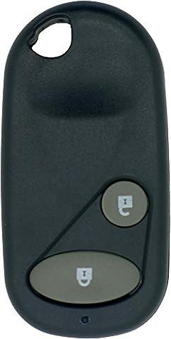 Chequers Motorstore Gehäuse für Knopffernbedienung Honda Civic CRV Accord Jazz etc.... 2Knopf-Fernbedienung Schlüsselanhänger (Jazz Knöpfe)