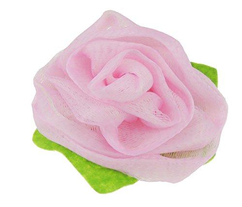Damen Große Rose Bad Dusche Schwamm Luffa Gr. One size, rose (Safari Waschlappen)