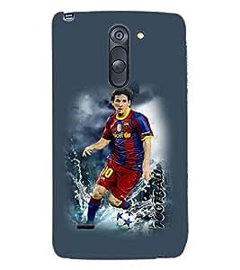 PRINTSWAG FOOTBALL Designer Back Cover Case for LG G3 STYLUS