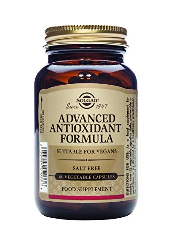 Solgar The Guardians Advanced Antioxidant Integratore Alimentare di Vitamine con Azione Antiossidante - 60 Capsule Vegetali