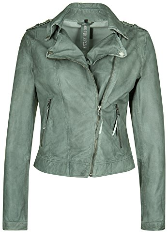 Freaky Nation Lederjacke BLOW AWAY Medium, granite