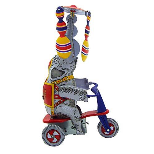 Stick Kostüm Mann Baby - Blechspielzeug, Chshe, Nostalgische Blechuhrmacherkette, Spielzeugfotografie-Zubehör Ms814 Dreirad, Extrem Gut (Mehrfarbig)