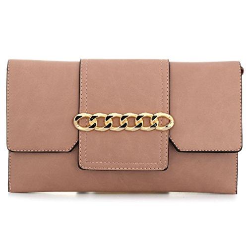 YYW wristlet bag, Borsetta da polso donna Light Pink