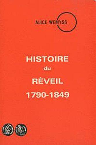 Histoire du réveil 1790-1849