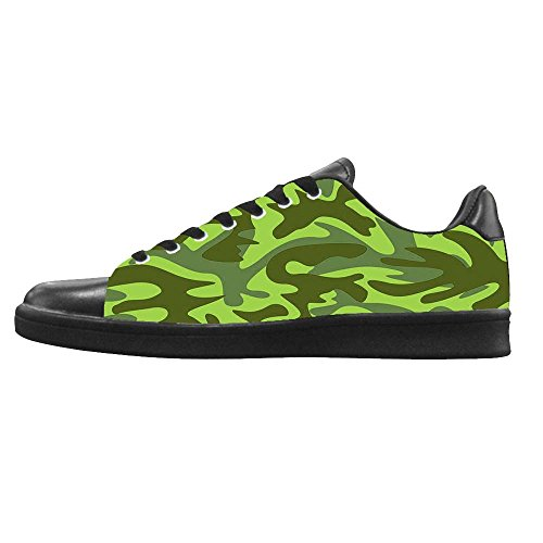 Dalliy tarnung Men's Canvas shoes Schuhe Lace-up High-top Footwear Sneakers C