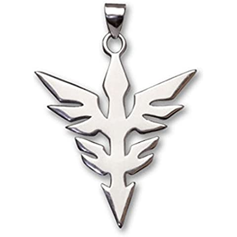 Andonger Mobile Suit Gundam Simbolo 925 collana in argento Sterling