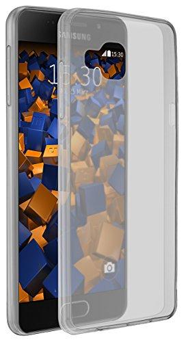 mumbi UltraSlim Hülle für Samsung Galaxy A5 (2016) Schutzhülle schwarz transparent Ultra Slim - 0.8 mm (nicht für das Galaxy A5 - A500F von 2015)