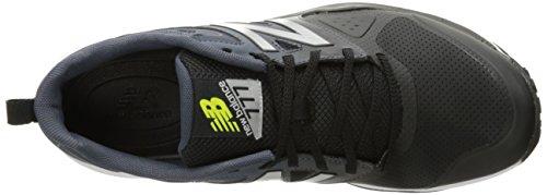 New Balance Men's 777v2 Training Shoe, Black/Grey, 10 2E US Black/Grey