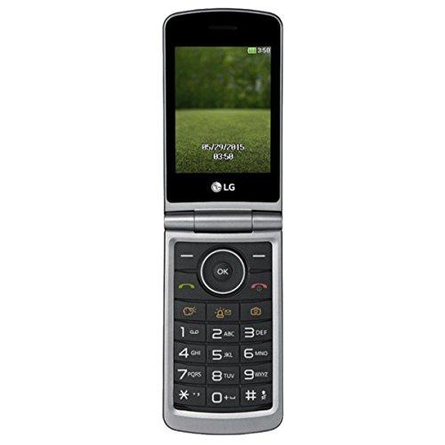 LG G351 teléfono movil plegable con una pantalla de 3 pulgadas a 320 x 240 pixels de resolución, cámara de 1.3 megapixels, radio FM y ranura microSD
