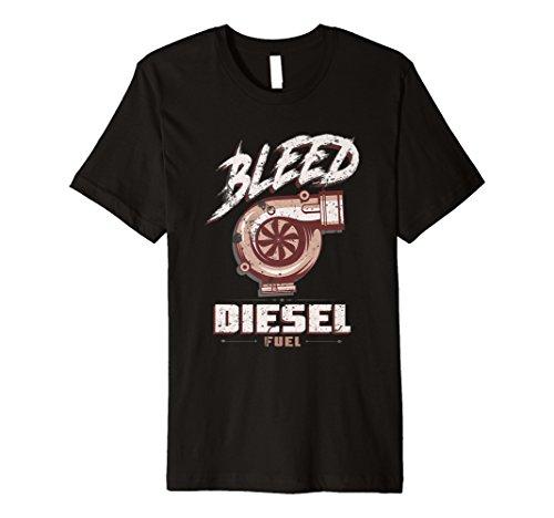 Beschnitt Diesel Fuel T-Shirt DIESEL POWER Rolle Kohle -