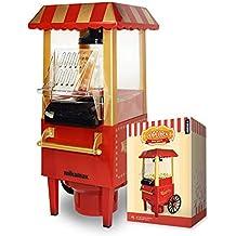 MikaMax - Popcorn Machine - Retro Palomitero Pop Corn Maker - Palomitero vintage
