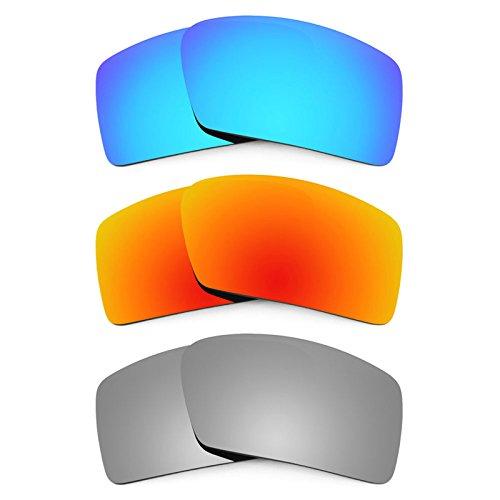 Revant Ersatzlinsen für Oakley Eyepatch 2 Polarisiert 3 Paar Kombipack K014