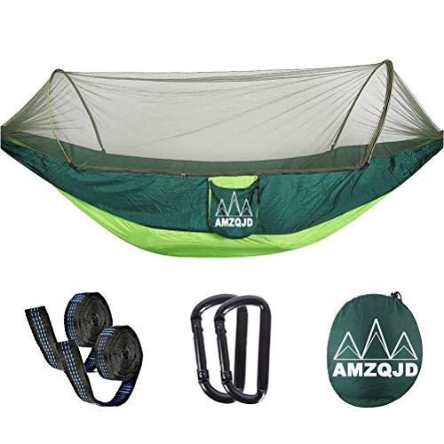 AMZQJD Ultraleichte Moskito Netz Camping Hängematte Outdoor