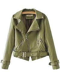 finest selection c8b07 f229f f64cfea chiodo donna giacca donna in vera pelle vintage blu ...