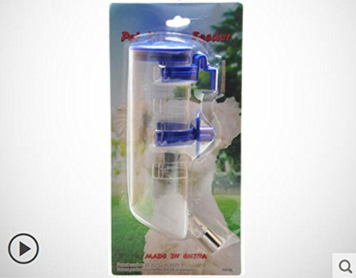 HFZLL Hunde/Haustiere/Trinkwasser Heimtierbedarf Trinkwasser hängenden-Typ Wasser Wasserkocher/Hund/Katze Wasser Dispenser / , blue