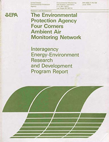 Environmental Protection Agency Four Corners Ambient Air Monitoring Network (English Edition) -