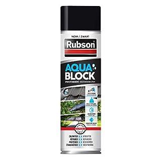 Rubson 2266416 « Aquablock » Revêtement d'Étanchéité en Spray, Noir