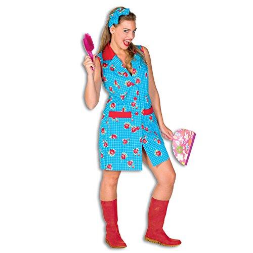 PARTY DISCOUNT NEU Damen-Kostüm Putzfrau Gr. - Putzfrau Kostüm