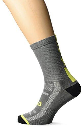 Fox Socken 8 Logo Trail Graphite/Yellow 18464-174-L/XL, Multi-Colored, Größe L/XL