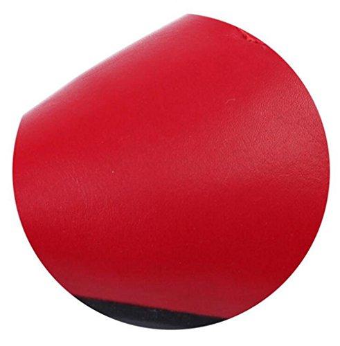 LDMB Damen V spitze Zehen flache Hausschuhe Sommer Frauen Innen-oder Outdoor-Hausschuhe Red