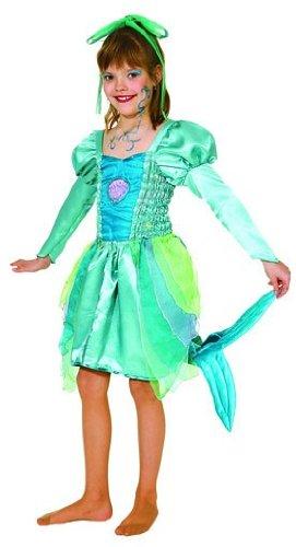Orlob Karneval 518-140 - Meerjungfrau, Größe - Theater Meerjungfrau Kostüm