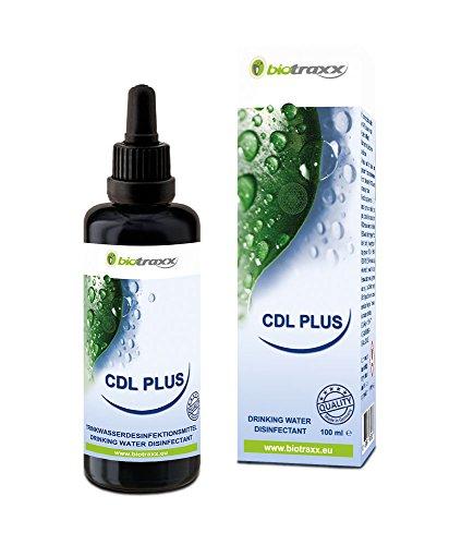 Biotraxx - Soluzione CDL-Plus di diossido di cloro, con pipetta, 100 ml