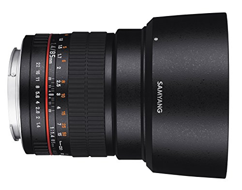 Samyang 85 mm F1.4 Manual Focus Lens for Samsung-NX