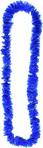 Soft-Twist Poly Leis W/Etikettiert Box (blau), 50Blau Leis Pro Paket