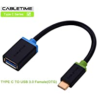 cabletime USB3.1 Tipo C Cavo, Cavo OTG adattatore, usb-type cm a