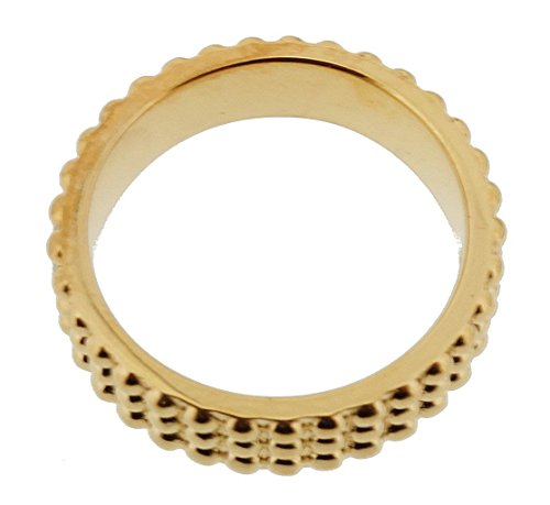 Esprit Damen-Ring 925 Sterling Silber rhodiniert Kristall Zirkonia Pellet gold weiß