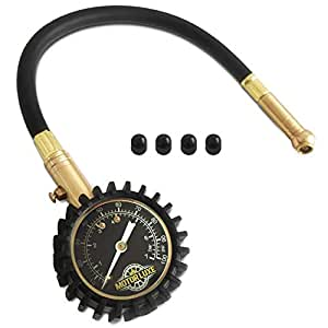motor luxe tyre pressure gauge 100 psi 7 bar accurate