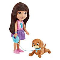 Fisher-Price Nickelodeon Dora and Friends Train and Play Dora CGT65 Doll