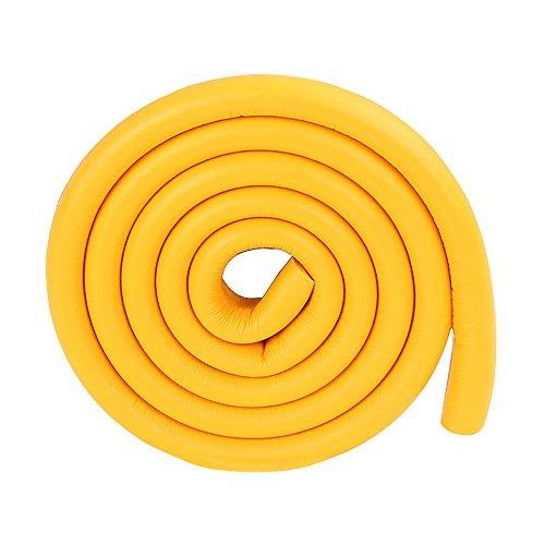 2m / 6.5FT entfernbare Schaumstoff Paneelkante Schutzleiste orange Glas Eckkissen für Schrank...