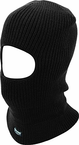 Face Open Angeln (5starwarehouse Kopfmaske/ Skimaske, mit Gesichtsöffnung, warmes Thinsulate, inklusive Tuch von 5starwarehouse Open Face Balaclava - Black)