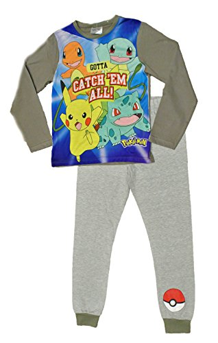 Thepyjamafactory -  pigiama due pezzi  - ragazzo blue 11-12 anni
